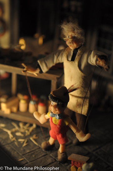 Master of Puppets - Geppetto and Pinnochio at the Miniature Museum of Taipei